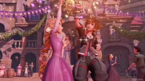 "2. ""Kingdom Hearts 3"""