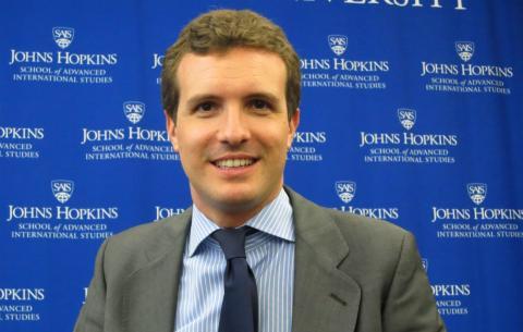 Pablo Casado, vicesecretario general de Comunicación del PP