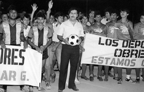 Pablo Escobar was known for his largesse, including funding local soccer clubs.