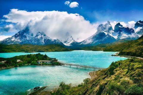 Paisaje en Chile