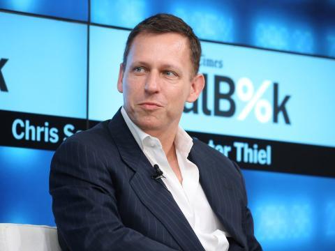 Peter Thiel, socio de Founders Fund