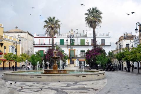 Plaza del Cabildo de Sanlúcar de Barrameda