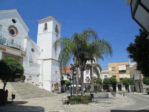 Plaza José Bermudez en Coín