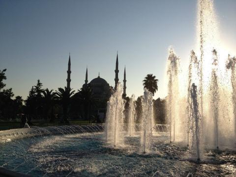 Plaza de Sultan Ahmet en Estambul