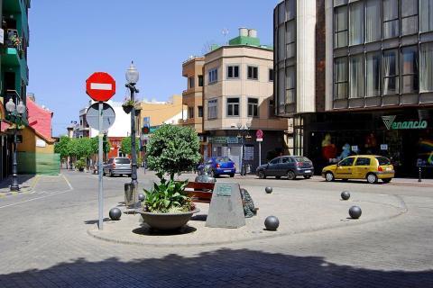Plaza en Telde