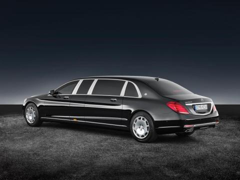 Power for the Pullman Guard comes from a monster 6.0-liter, 530-horsepower, twin-turbocharged V12 engine.