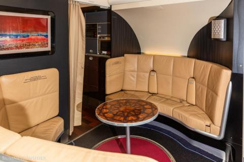 ... private lounges ...
