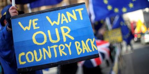 Protestas tras el Brexit [RE]