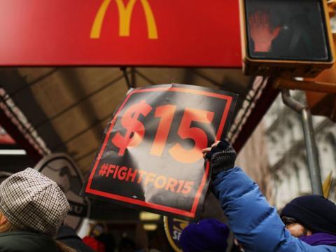 protestas por salarios