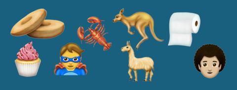 Otros emojis que llegan el martes