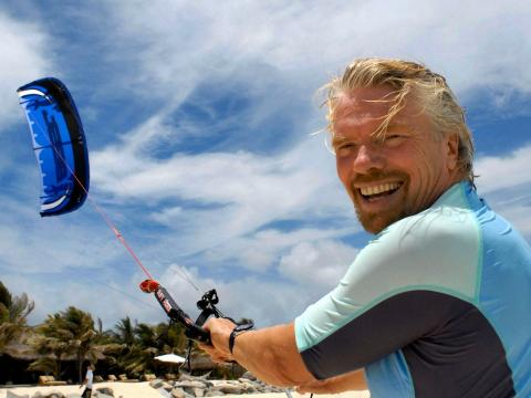 Richard Branson, fundador de Virgin Group.