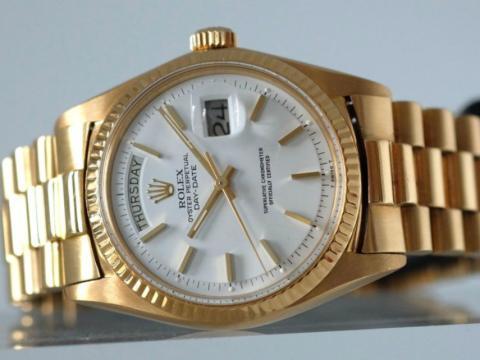 Imagen de un reloj de la marca Rolex.