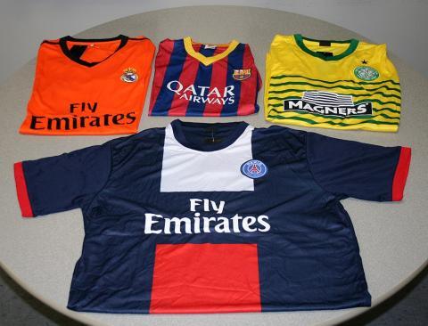 ropa deportiva falsificada
