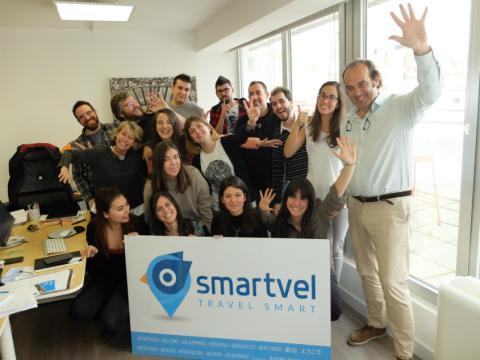 La oficina de Smartvel en Madrid cuenta con un equipo formado por 20 profesionales.