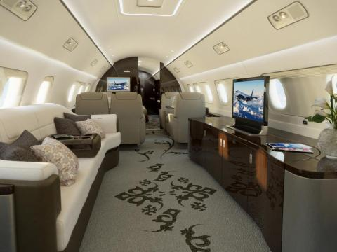 The spacious $53 million 1000E can be configured with a master bedroom and a walk-in shower.