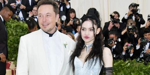 In the Spring of 2018, there was a new development in Musk's personal life, too — he and musician Grimes struck up a relationship. They reportedly hit it off after they both made the same nerdy joke about artificial intelligence.