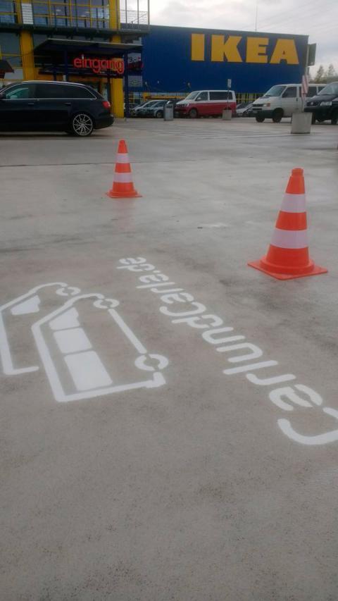 La startup de carsharing que aparca sus furgonetas en los Ikea de Alemania
