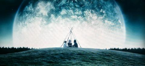 """A still from """"Melancholia,"""" a movie about a rogue planet that destroys Earth."""