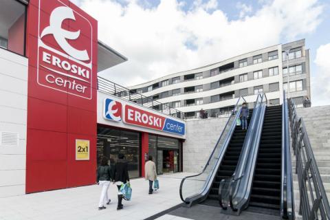 Un supermercado Eroski en el País Vasco