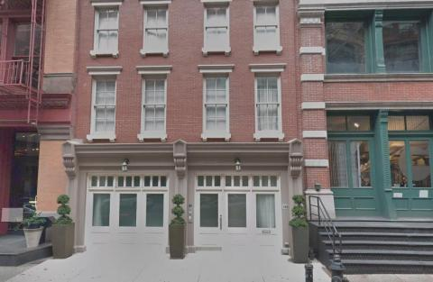 Taylor Swift's Tribeca townhouse.