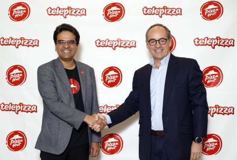 Telepizza y Pizza Hut