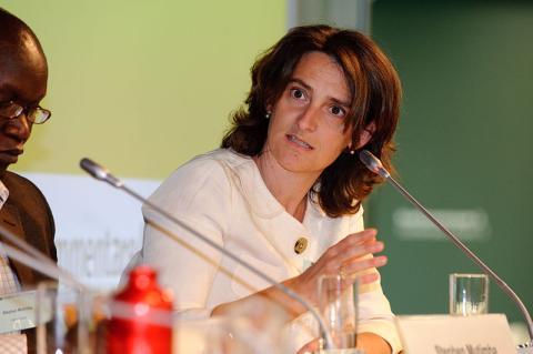 Teresa Ribera, ministra de Medio Ambiente