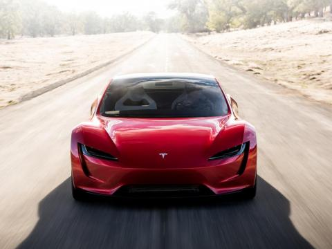 Tesla's new Roadster is expected to arrive in 2020.