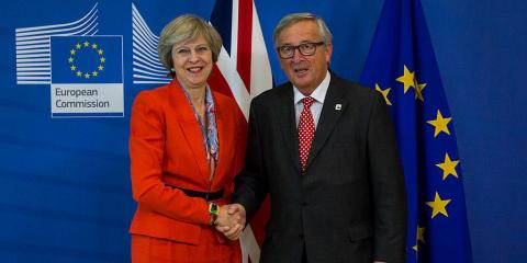 Theresa May has a greed a Brexit deal with EU leaders.