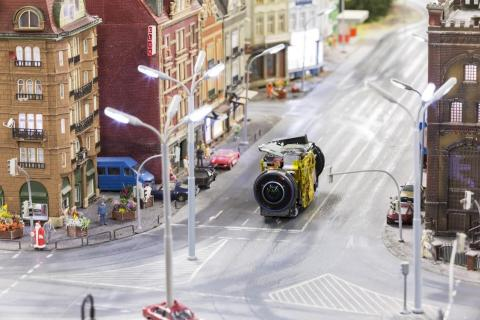 The tiny Street View car couldn't actually film anything, which is why Google and Ubilabs built a fleet of mini camera-mounted devices to cruise the streets ...