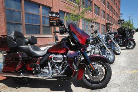 Varias Harley-Davidson