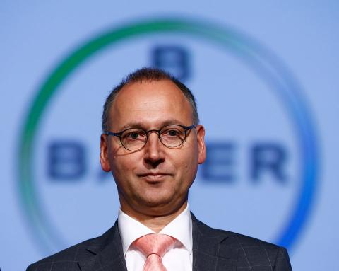 Werner Baumann director ejecutivo de Bayer [RE]