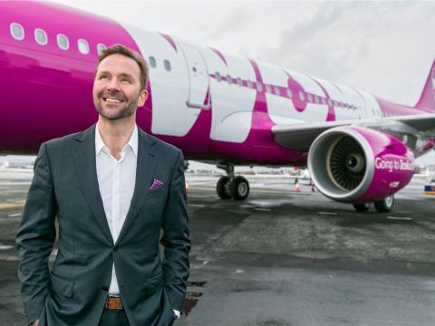 El fundador y CEO de Wow Air, Skuli Mogensen.