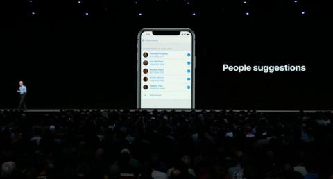 4. Sharing photos with friends is much easier thanks to iOS 12. If you take photos with friends, iOS can detect which friends are in your photos, and offer to send those photos to them. And your friends can get similar