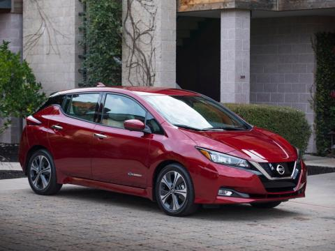 1. 2018 Nissan Leaf