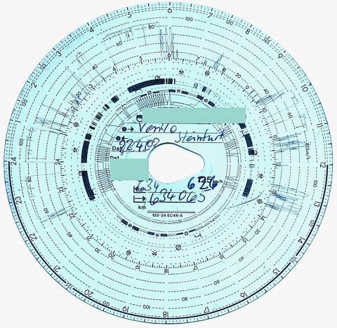 Manipular el tacógrafo u otros elementos obligatorios conlleva una multa de entre 4.001 y 6.000 euros.