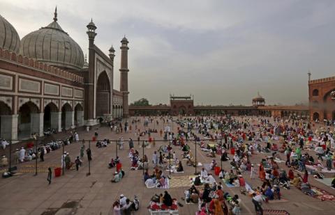 1. Greater Delhi, India — 39 million