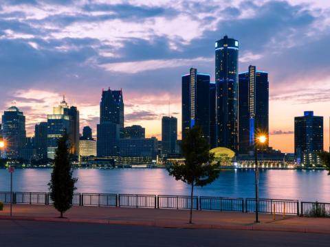 34. Detroit, Michigan