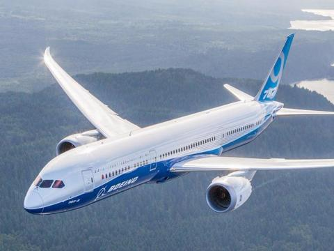 The Boeing 787-8 Dreamliner was the first in a new generation of ultra-fuel-efficient wide-body airliners.
