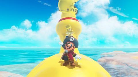 "2. ""Super Mario Odyssey"""
