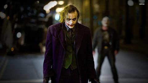 "2. Heath Ledger as The Joker in ""The Dark Knight"" (2008)"