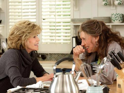 """35. """"Grace and Frankie"""" — 86%"""