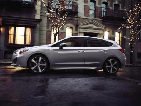 4. Subaru's all-electric crossover