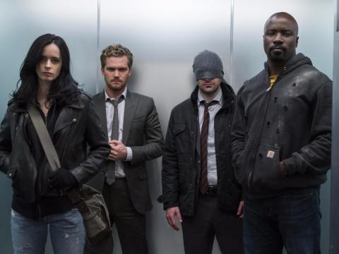 """49. """"Marvel's The Defenders"""" — 77%"""