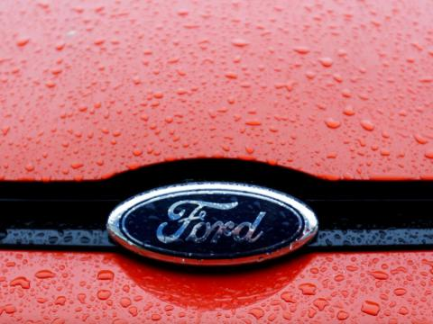 7. Ford's electric crossover