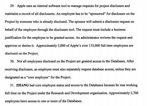 7 things we learned about Apple's self-driving car project from the explosive FBI investigation into stolen trade secrets