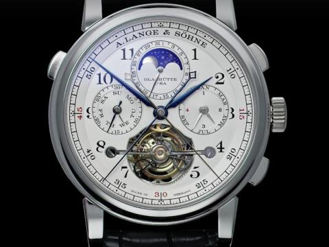"According to the Russian government-owned paper ""Russia Beyond the Headlines,"" Putin owns an A. Lange & Söhne Tourbograph Perpetual 'Pour Le Mérite,' which costs half a million dollars."