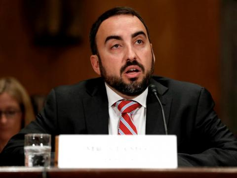 August 2018: Facebook's ethically minded former chief security officer, Alex Stamos.