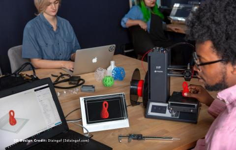 ... and 3D printing experts are among the first early adopters to try the technology out.