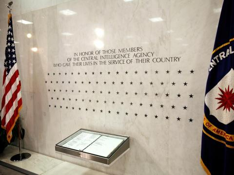 And it is true that espionage can be dangerous. There are 129 stars carved into the agency's memorial wall, each reflecting a CIA employee who lost their life in the line of duty.