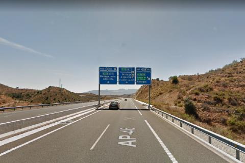 AP-46 Alto Pedrizas-Málaga